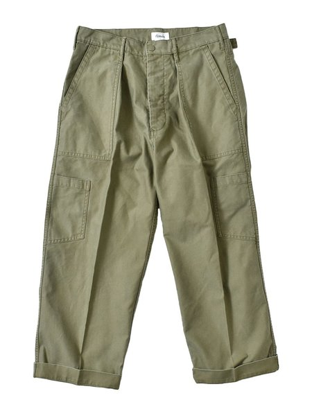 Chimala M51 Backsatin Us Air Force Cargo Pants - Khaki Green