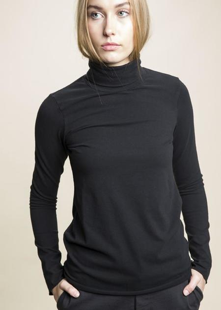 Labo.Art Giacomino Jersey Turtleneck - black