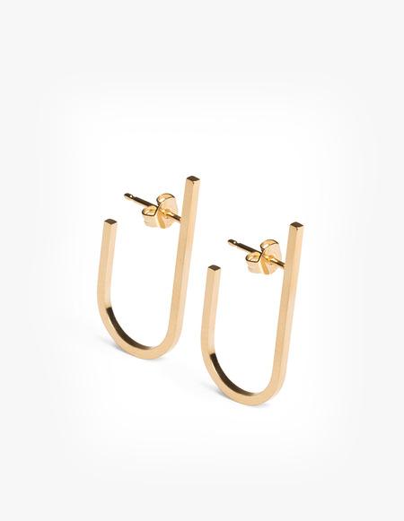 The Boyscouts Rivet Earring - gold