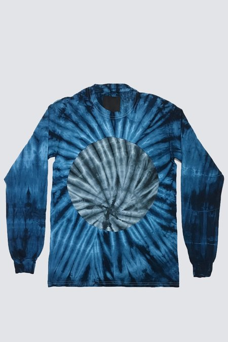 Assembly New York Long Sleeve Circle T-Shirt - Tie-Dye