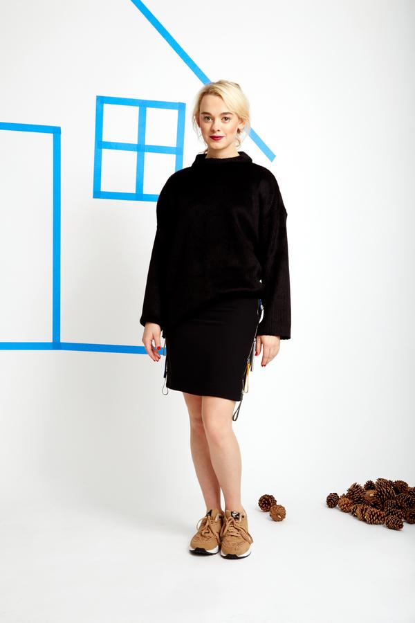 CF. Goldman Zip Skirt