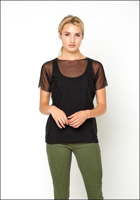ARK NYC Short Sleeve Mesh T-shirt