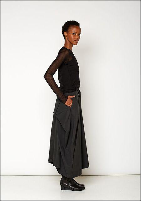 139DEC Bubble Skirt - BLACK