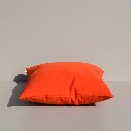 Yowie Linen Pillow - Ripe Tomato