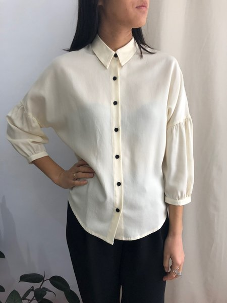 EVE GRAVEL GHOST STORY shirt - cream