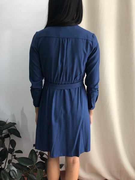 PEPALOVES BONNIE DRESS - BLUE