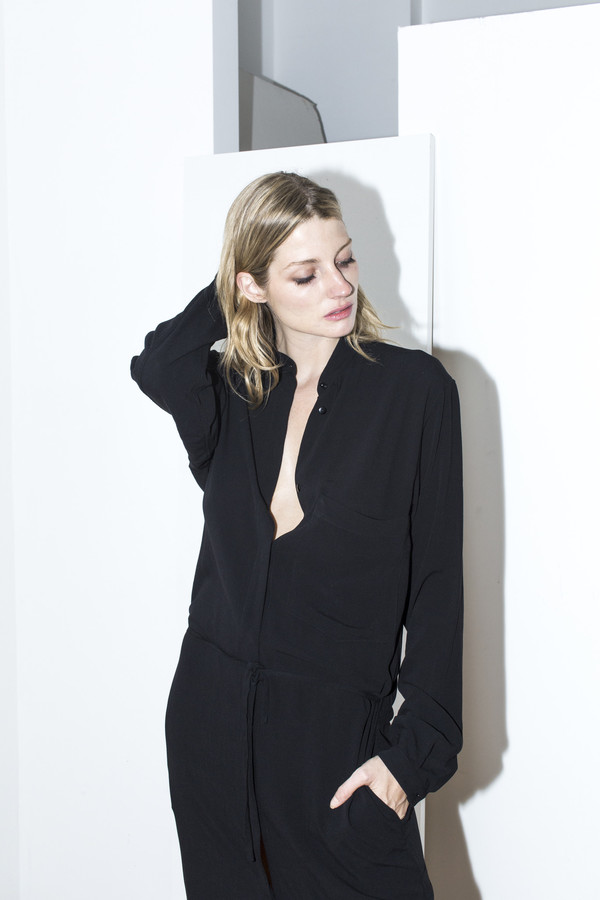 Assembly New York Black Shirt Dress