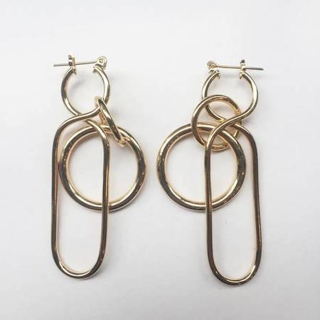 A Détacher Fern Earrings - Gold