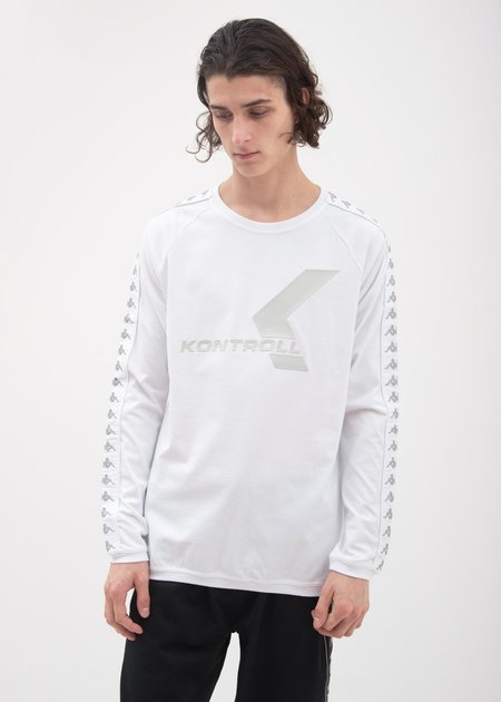 Kappa Kontroll Banda Long Sleeve - White