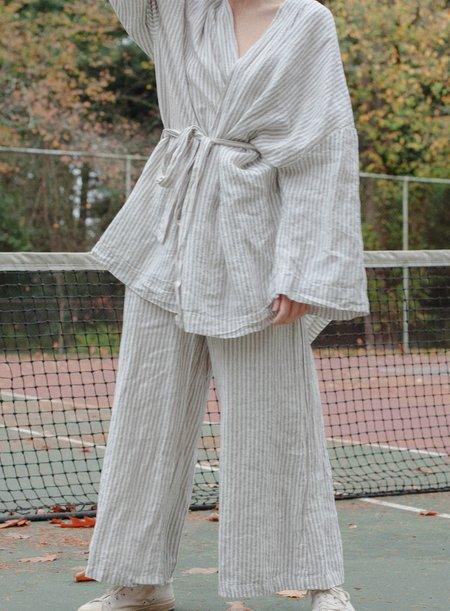 Deiji Sleepwear Set - Pinstripe