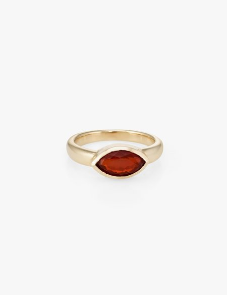 Kathryn Bentley Fire Opal Marquise Ring
