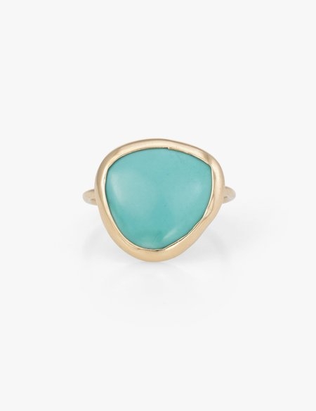 Kathryn Bentley Turquoise Slice Ring