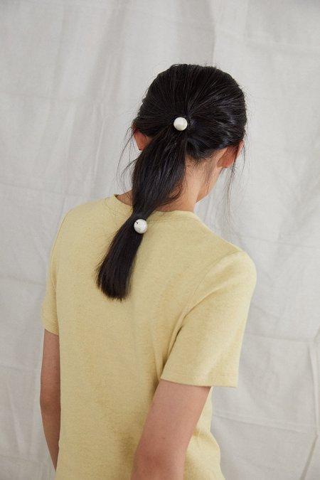 Ovna Ovich Naturally Dyed Hemp Organic Cotton Tay T-Shirt - Sunshine