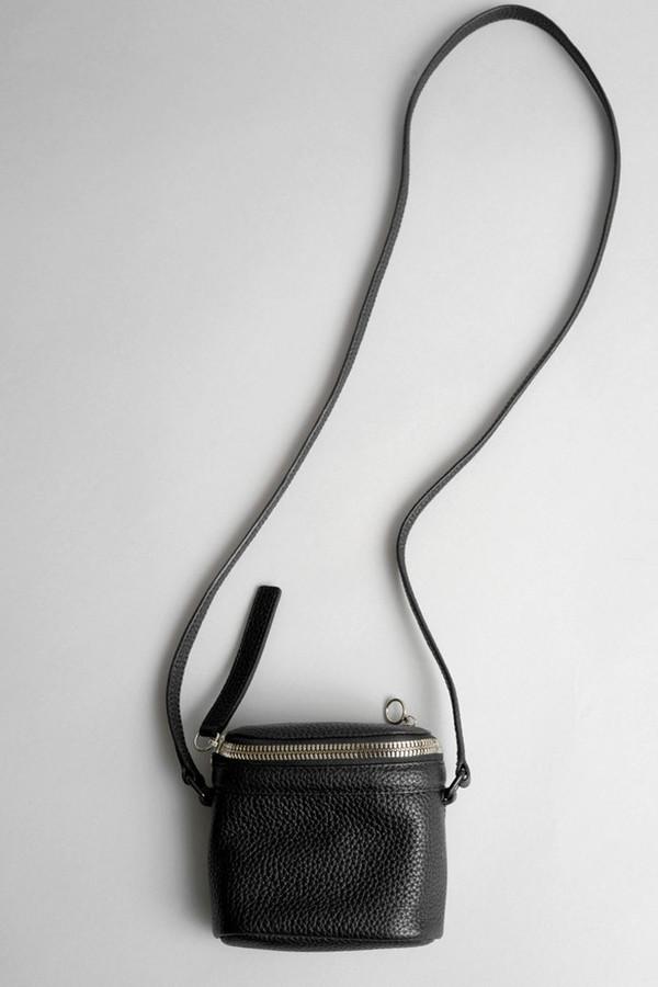 Black Leather Stowaway