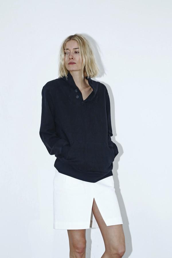 Unisex Assembly New York Black Shawl Sweatshirt