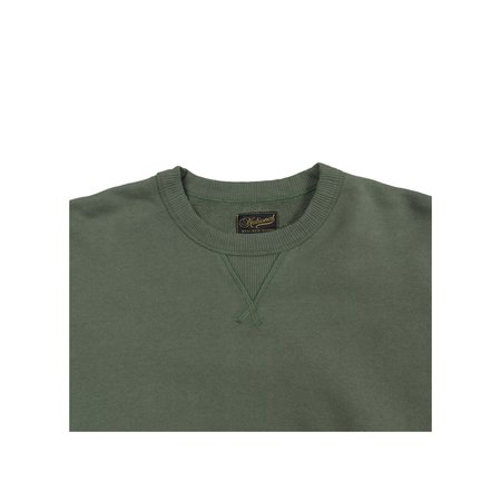 National Athletic Goods Single V Dyed Terry Warm-Up - Army Green