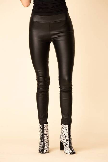 SPRWMN Leather Leggings - Black