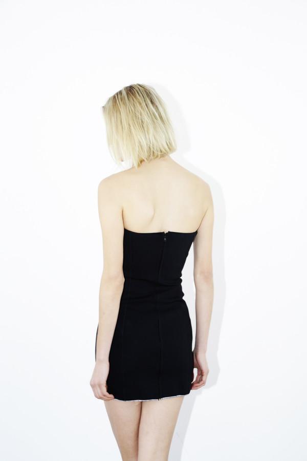 Black Yanis Bandeau Dress