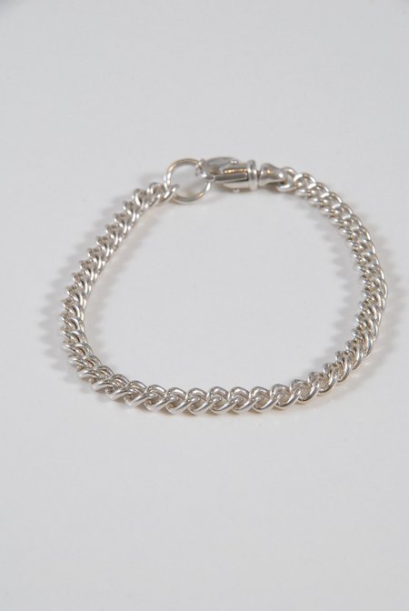 M33Ms G Chain Bracelet - Silver