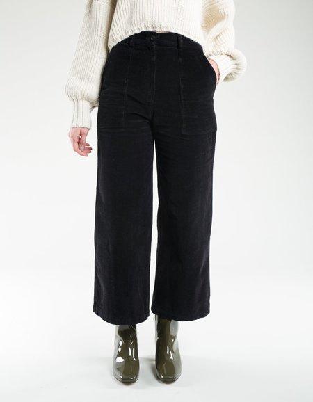 First Rite Cargo Trouser Corduroy - Black