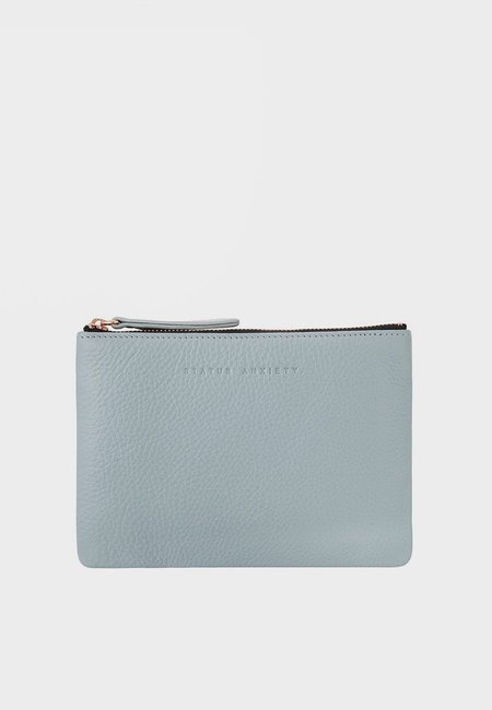 Status Anxiety Treacherous Pouch Wallet - Arctic Grey