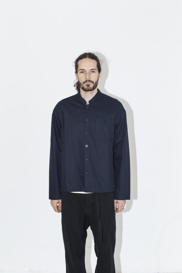 Men's Fanmail Navy Twill Shirt Jacket