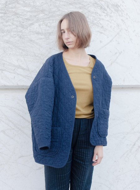 Micaela Greg Quilted Jacket - Midnight Blue