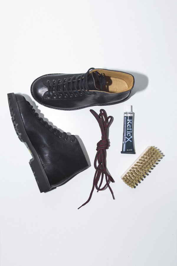 Men's Fracap Black Monkey Boot