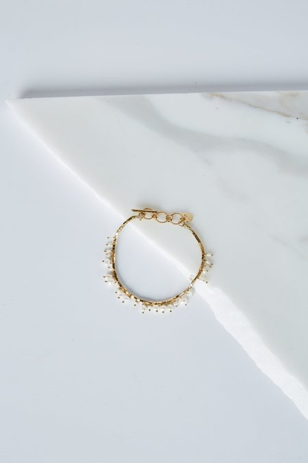 5 Octobre Linon Pearl Bracelet - Freshwater Pearl