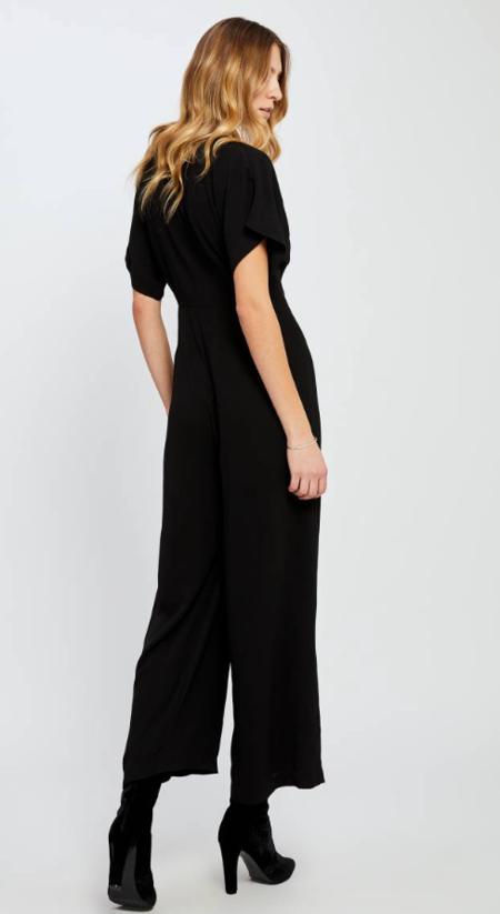 Gentle Fawn Searra Jumpsuit - BLACK