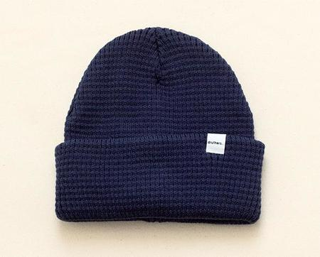 Druther's Druthers Waffle Knit Beanie - Navy
