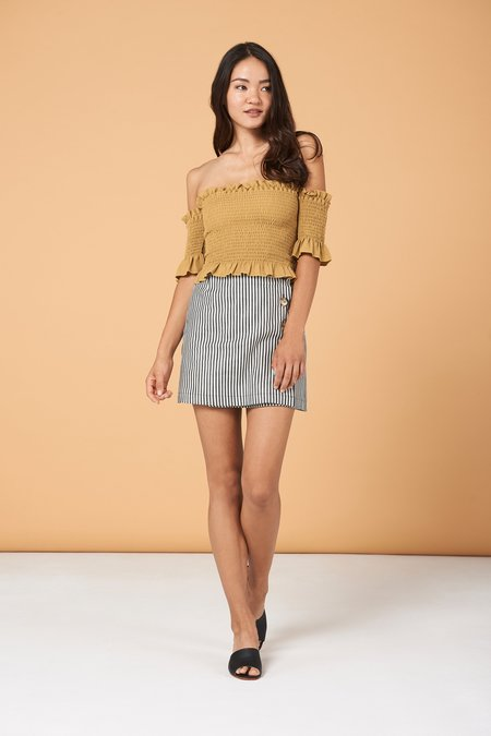 Whimsy & Row Dena Top - Gold