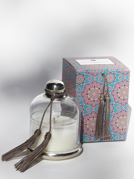 COTE BOUGIE Candle Cloche - Taupe Oriental