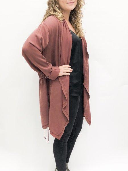 VIMMIA hideaway anorak jacket - terra