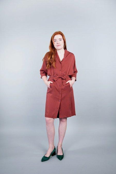 Pillar Chamonix Dress - Rust