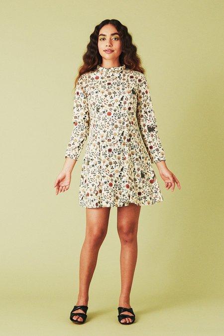 Samantha Pleet Passion Dress - Ivory Illuminated