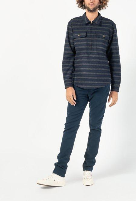 Aime Leon Dore Half Zip Pullover Shirt - Navy