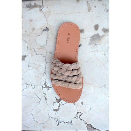 Maslin & Co Capitaine Stone Slides  - GRAY