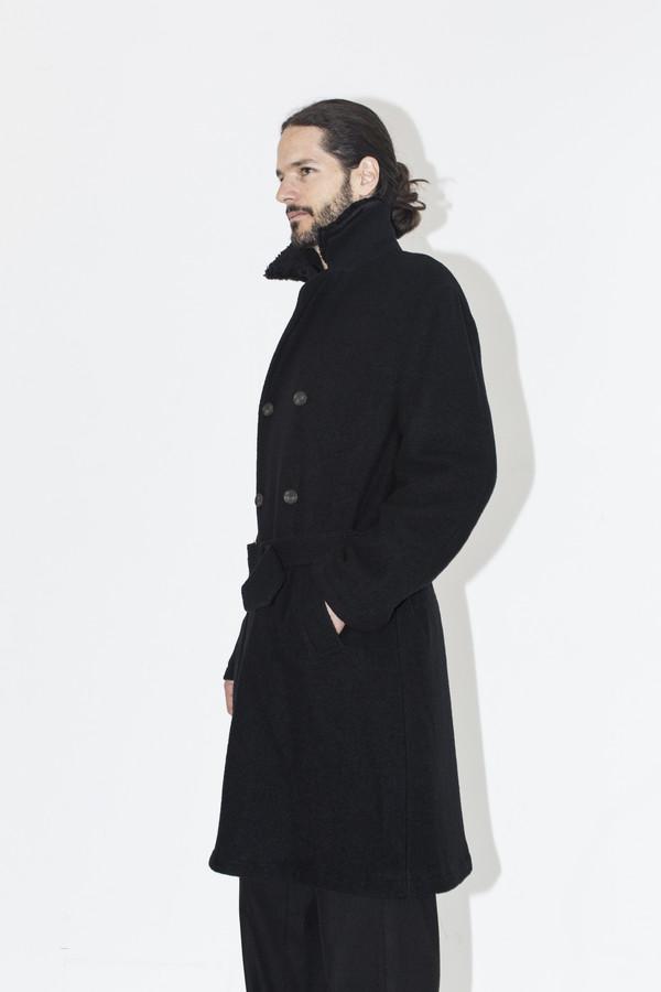 Men's Robert Geller Black Wagner Coat