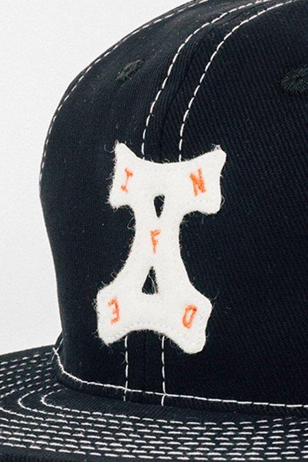 Infinite Definite  X Ebbets Field Flannels 10 Year Cap - Black Denim