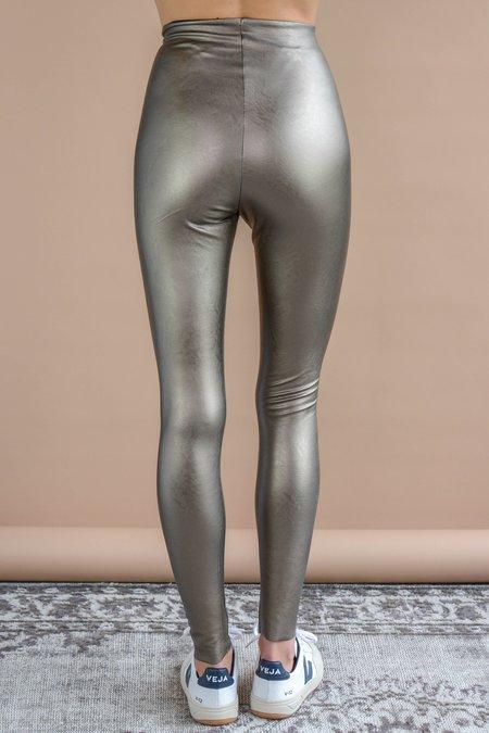 Commando Faux Leather Legging With Perfect Control - Bronze