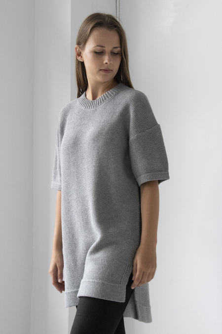 Elk Reis Tunic Sweater - GRAY