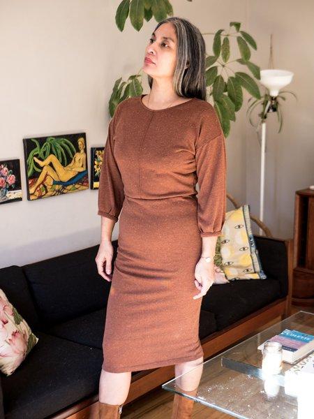Eve Gravel Juniper Dress - Cinnamon
