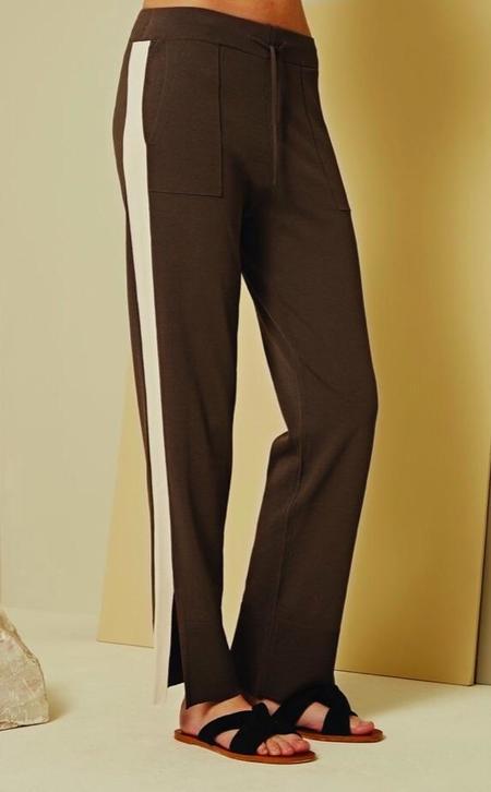 Charli Viella Trousers - Carbon/Bone