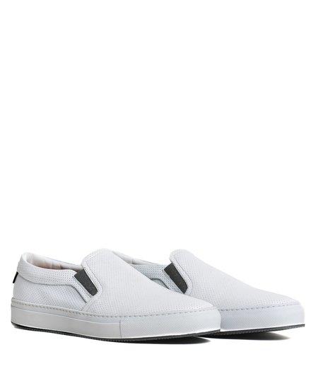 Good Man Brand Sure Shot Slip On Sneaker - White Perforated