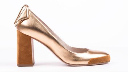 Jessica Bédard Shoes Gael Pump - Gold