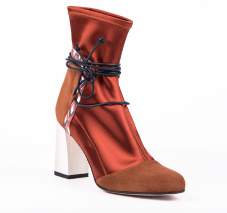 Jessica Bédard Shoes Ivy Ankle Boot - Brown