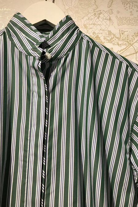 Rebecca Bree Audrey Striped Button Down Shirt