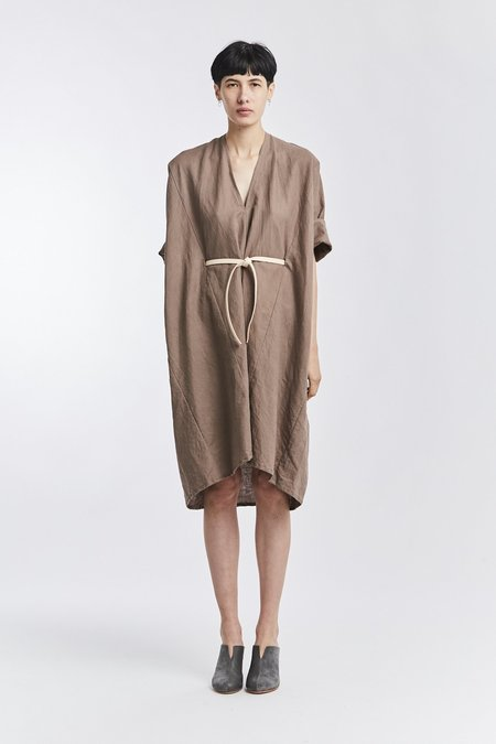 Miranda Bennett Linen O'Keeffe Dress - Terlingua