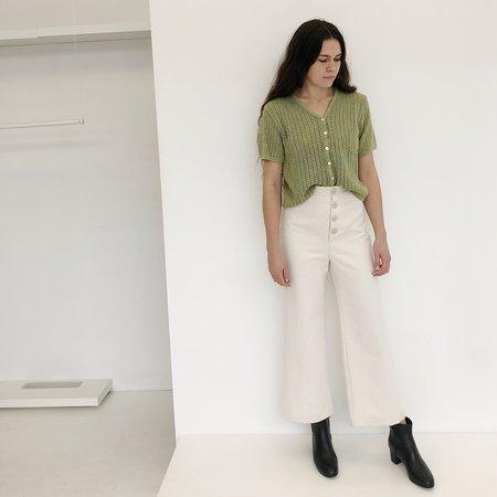 0ab299d9f3 ... Vintage Johan Sweater Cardigan - Lime Green